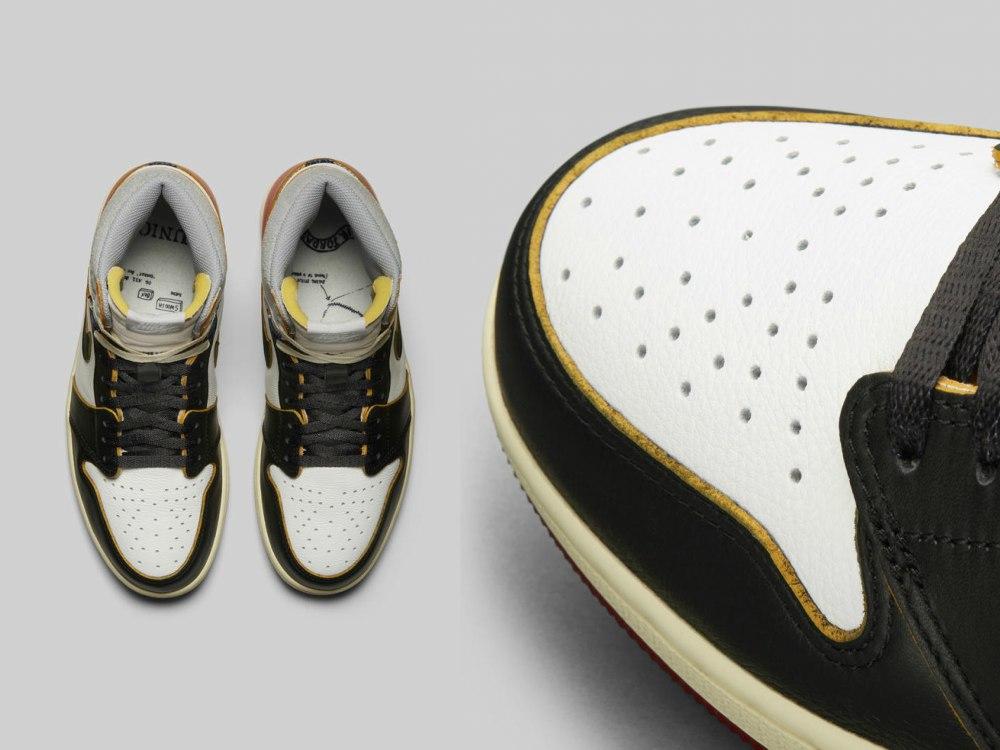 Union Air Jordan Sneaker Nike - UNION LA x Air Jordan 1:史诗级联名再掀抢购热潮