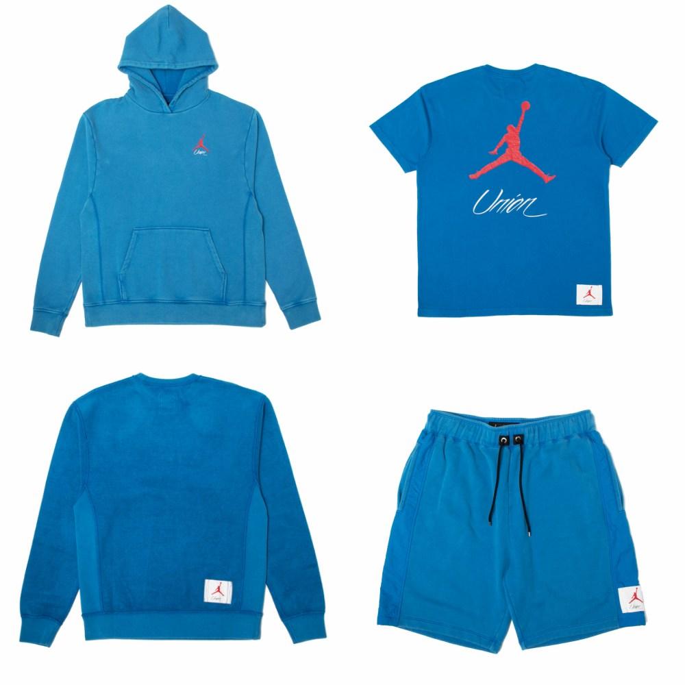 Union x Air Jordan Nike apparels - UNION LA x Air Jordan 1:史诗级联名再掀抢购热潮