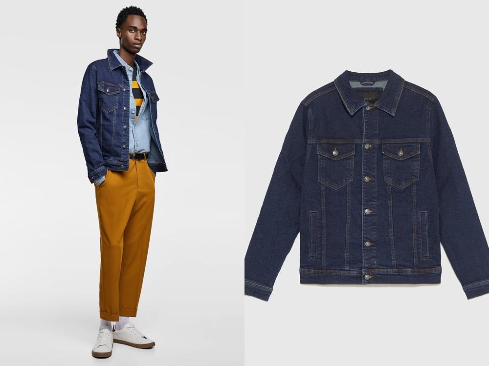 Zara basic denim jacket RM179 2 - 秋冬精选:21款丹宁外套