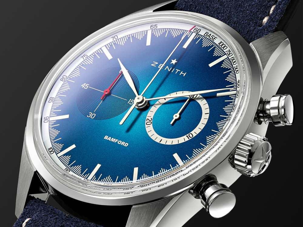Zenith x Bamford Watch Mr Porter Watch - 三强演义:Zenith x BWD x Mr Porter 推出25枚独家限量腕表