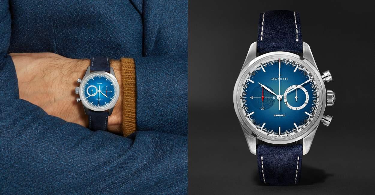 Zenith x Mr Porter Bamford Watch Cover - 三强演义:Zenith x BWD x Mr Porter 推出25枚独家限量腕表