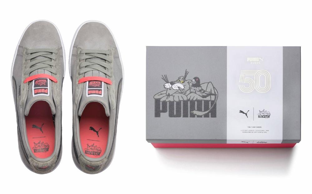 with Box Puma x Jeff Staple - 玩转纽约街头:PUMA x Staple Pigeon Suede 50 系列登场
