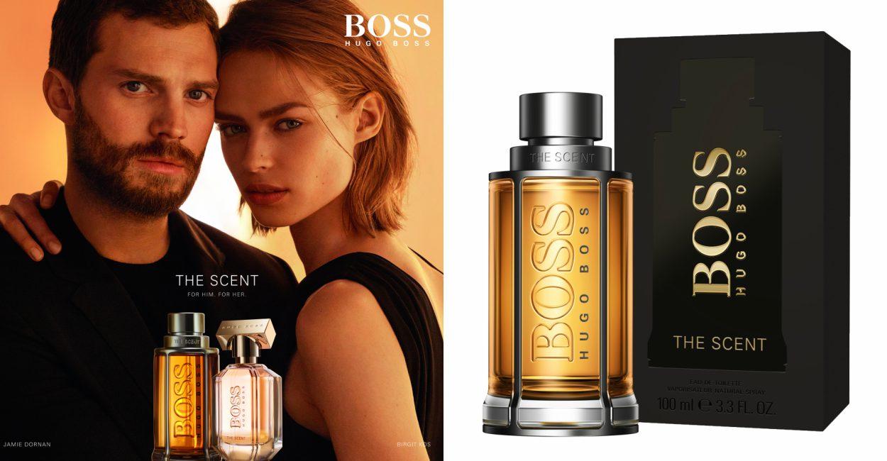 Boss The Scent cover - Hugo Boss The Scent:让她记住属于你的香味