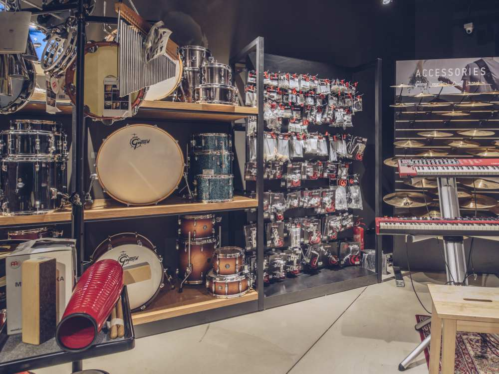 Drums Swee Lee Music Store - SWEE LEE LOT10:音乐与咖啡的美妙结合