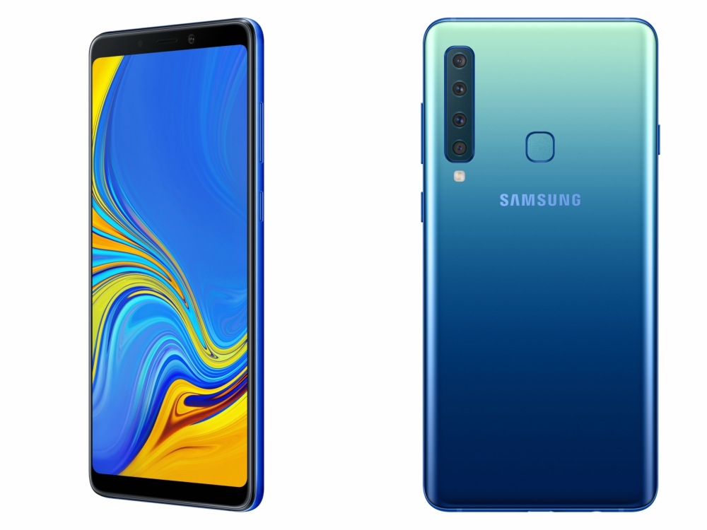 Samsung Galaxy A9 Lemonade Blue - 四不可挡:Samsung Galaxy A7 / A9 全球首款后置四镜头问世!