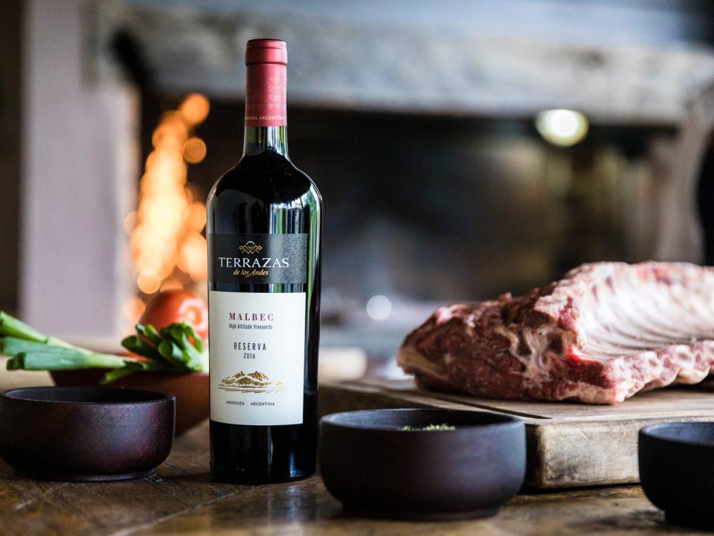 Terraza de los Andes Beef Wine - Terrazas de Los Andes: 获年度阿根廷葡萄酒荣誉