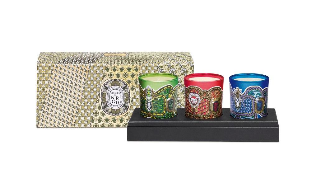 Visuel coffret bougies Diptyque - K's Skincare Gift Guide:7大圣诞保养品赠礼攻略 男女适用!