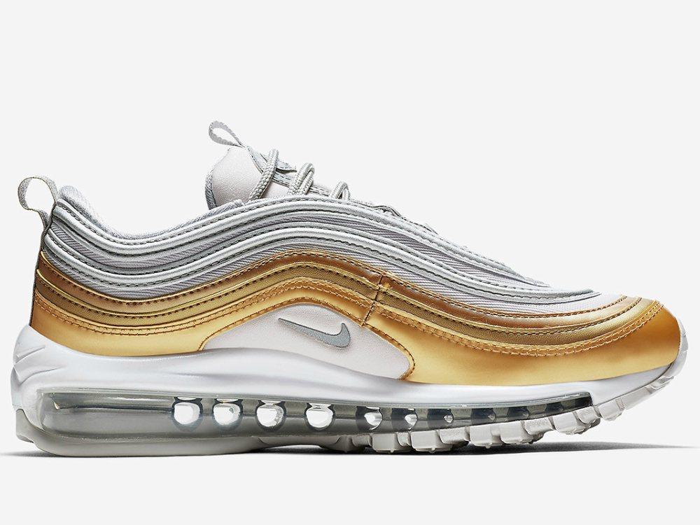 Nike Air Max 97 Reflective Logos AR4259 001 Size UK7