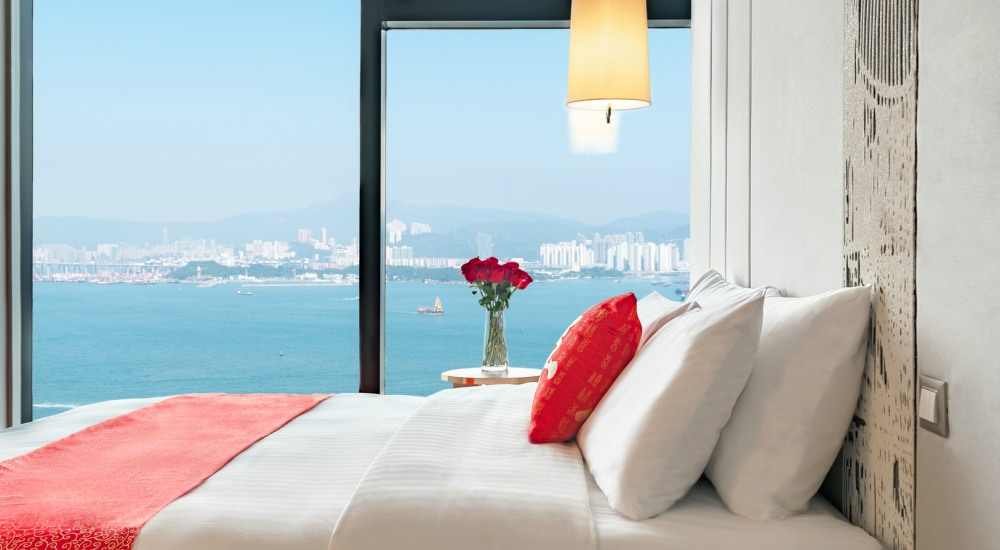Deluxe Harbour Island Pacific Hotel HongKong - 至臻升华的住宿体验:香港 Island Pacific Hotel