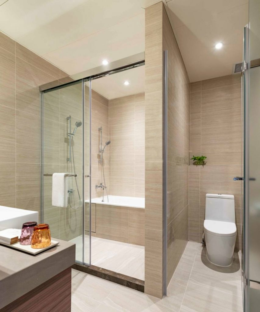 Deluxe Harbour View Suite Bathroom Island Pacific Hotel HongKong 853x1024 - 至臻升华的住宿体验:香港 Island Pacific Hotel