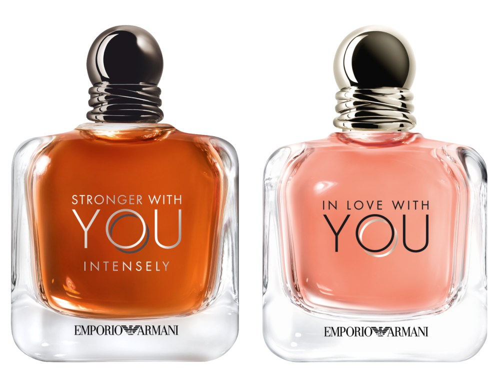 FOR HIM AND FOR HER Emporio Armani Intensely - Emporio Armani Stronger with You Intensely  耐人寻味