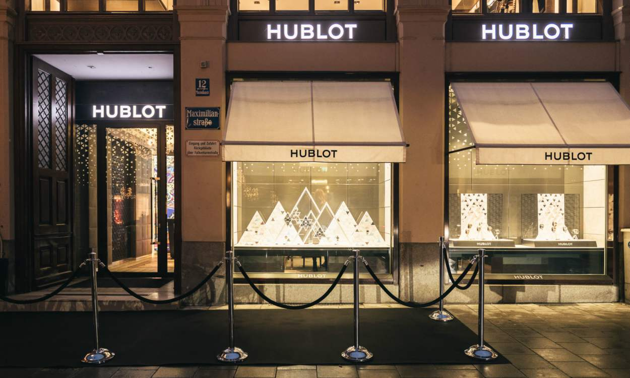 "Hublot celebrates the 5th anniversary of its Munich boutique with a ""Big Bang"" cover - Hublot 德国慕尼黑精品店欢庆5周年"
