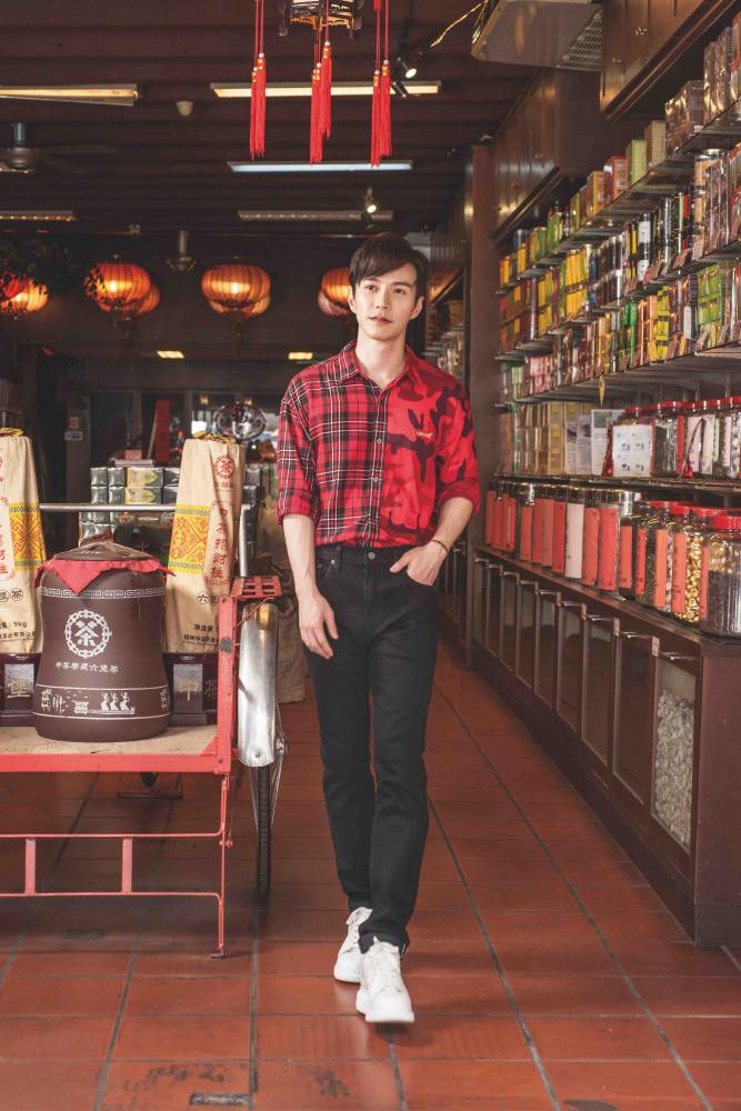 Lawrene Wong Levis CNY MEN - Lawrence 王冠逸完美演绎 Levi's 2019 农历新年系列
