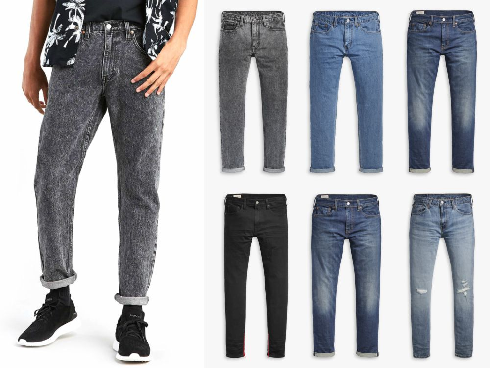 Levis CNY MEN Jeans - Lawrence 王冠逸完美演绎 Levi's 2019 农历新年系列