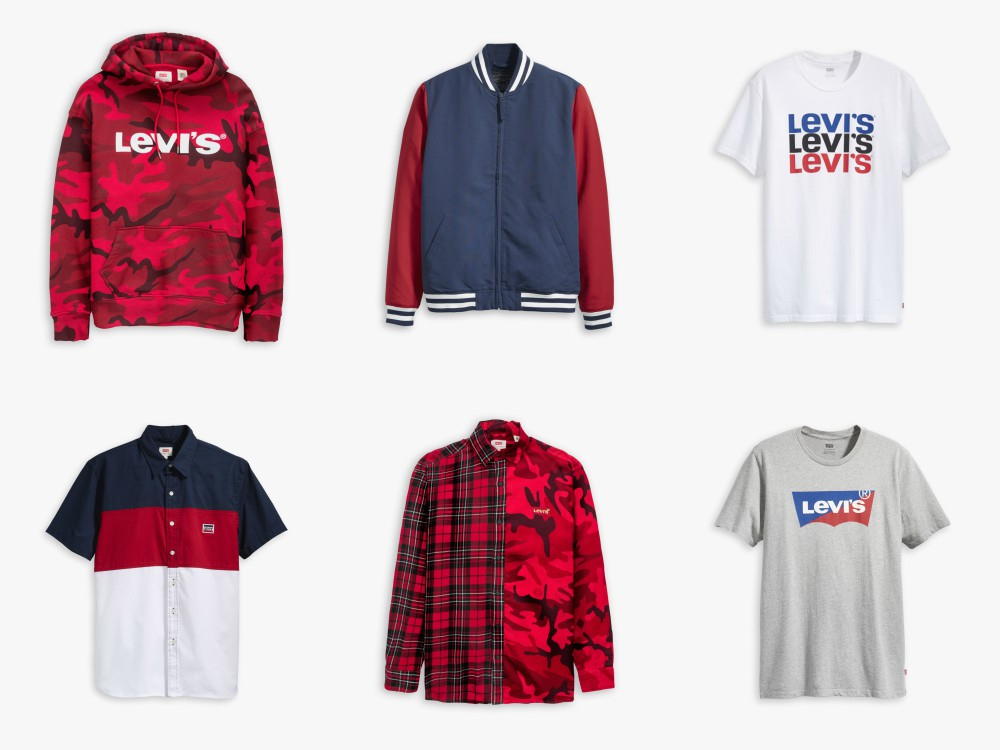 Levis CNY MEN top - Lawrence 王冠逸完美演绎 Levi's 2019 农历新年系列
