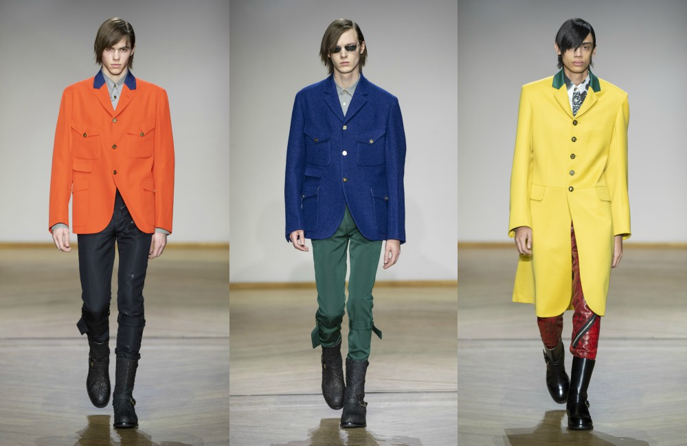 Look 1 Paul Smith AW 2019 - 花花贵公子:PAUL SMITH 2019 秋冬男装系列