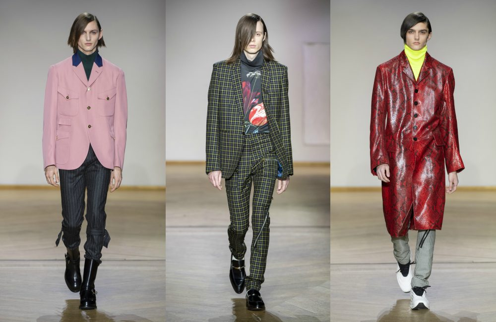 Look 2 Paul Smith AW 2019 - 花花贵公子:PAUL SMITH 2019 秋冬男装系列