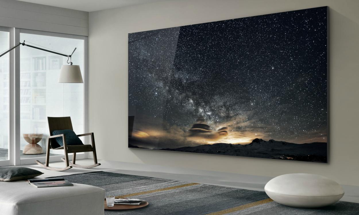 "Samsung Mirco LED 75 won CES 2019 Award cover - Samsung ""The Wall"" Micro LED 任何尺寸由你拼接"