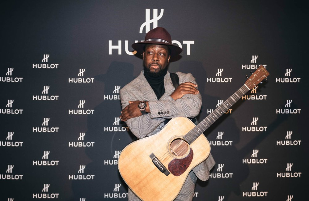 "Wyclef Jean Hublot celebrates the 5th anniversary of its Munich boutique with a ""Big Bang"" - Hublot 德国慕尼黑精品店欢庆5周年"