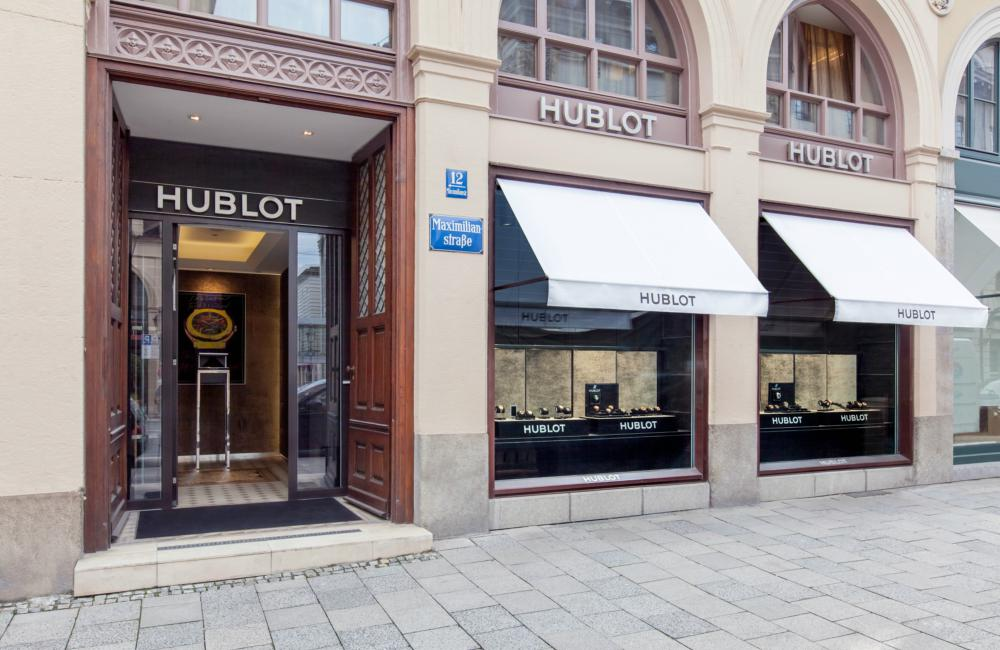 "outlook Hublot celebrates the 5th anniversary of its Munich boutique with a ""Big Bang"" - Hublot 德国慕尼黑精品店欢庆5周年"