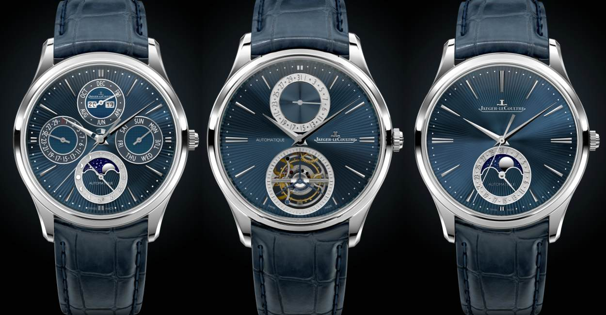 Jaegar LeCoultre Master Ultra Thin Series Limited Edition Cover - [SIHH 2019]3款Jaeger-LeCoultre Master UT Enamel