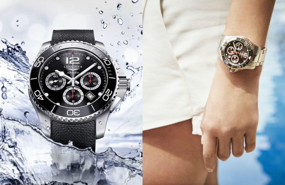 Longines Hydro Conquest Ceramic Chronograph - [编辑试戴]: Longines HydroConquest (内附郭富城专访)