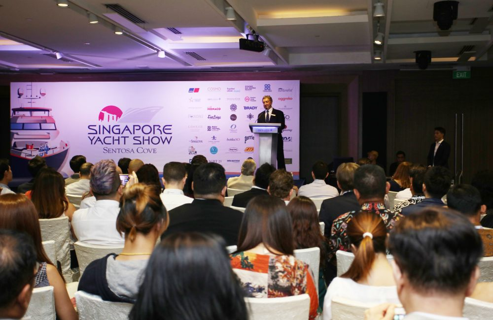Singapore Yacht Show 2019 Conference - 扬帆起航:第9届新加坡SYS国际游艇展