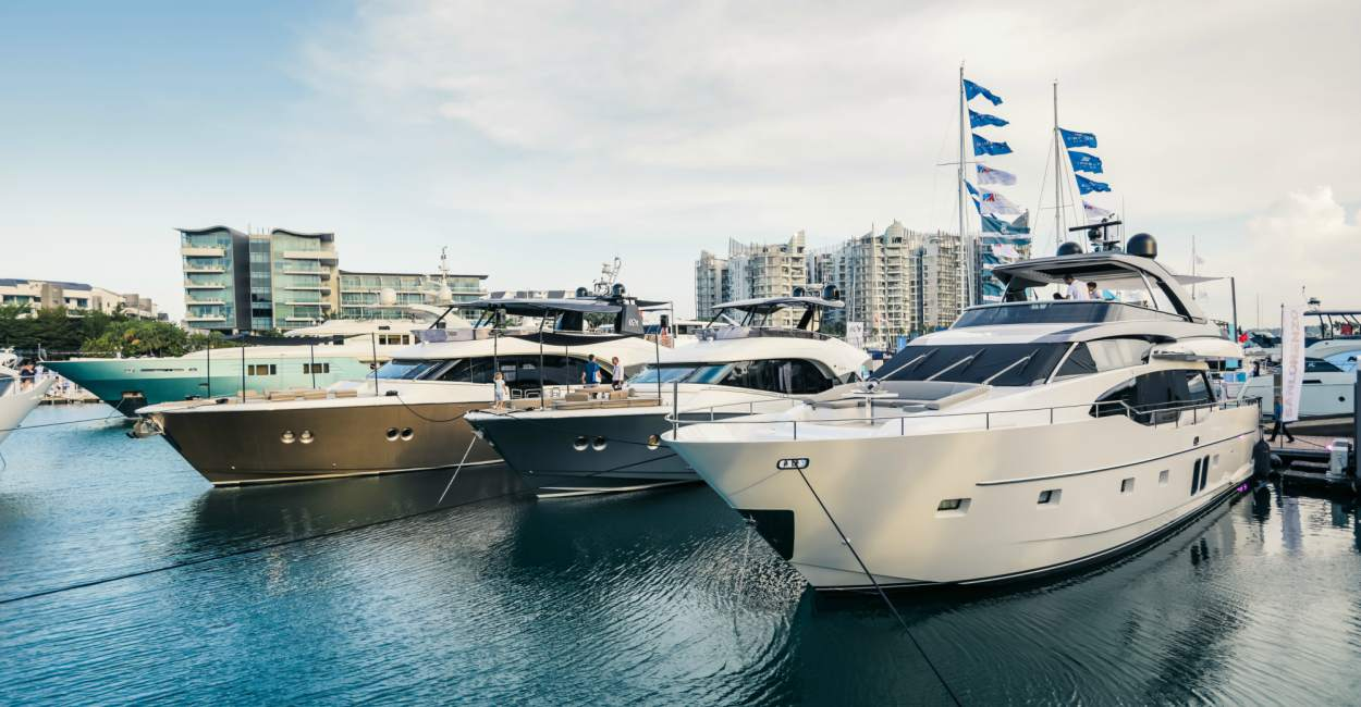 Singapore Yacht Show 2019 cover - 扬帆起航:第9届新加坡SYS国际游艇展