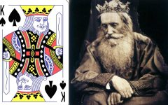 The Story Poker Cover King Spade with David Emperor of French Deck 240x150 - Poker Card Hidden Facts:扑克牌背后12个人物故事