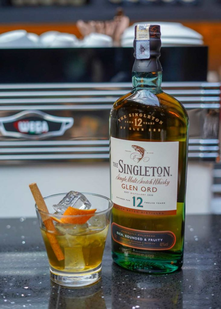Cocktail Mixed by The Singleton 12 Years 731x1024 - 14年麦芽威士忌限量呈现:The Singleton of Glen Ord