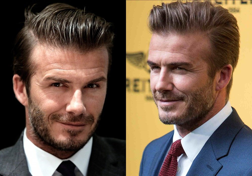 David beckham slick back hairstyle - 如何打造帅酷 Slick Back 发型?