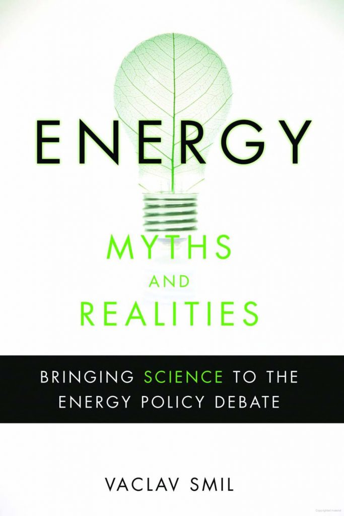 Energy Myths and Realities 683x1024 - Bill Gates 推荐10本突破性技术相关读物