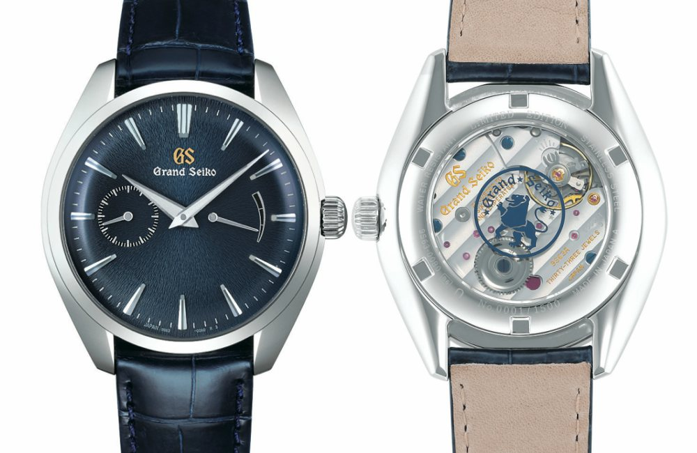 Grand Seiko Elegance Collection Blue - 精薄淬炼,优雅知性:Grand Seiko Elegance 系列