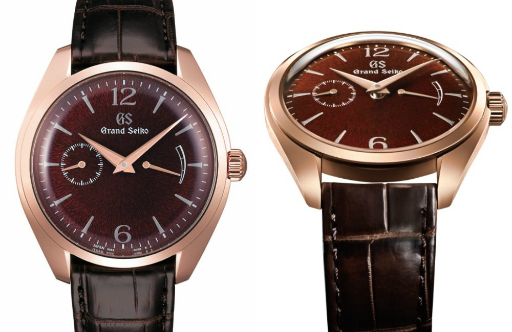 Grand Seiko Elegance Collection Rose Gold - 精薄淬炼,优雅知性:Grand Seiko Elegance 系列