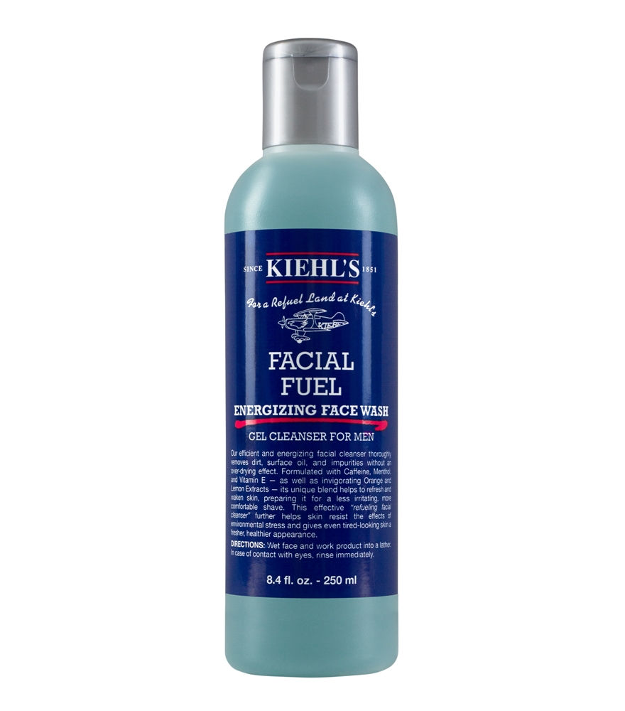 Kiehl's Facial Fuel Energizing Face Wash - 推荐6款男士专用洁面霜