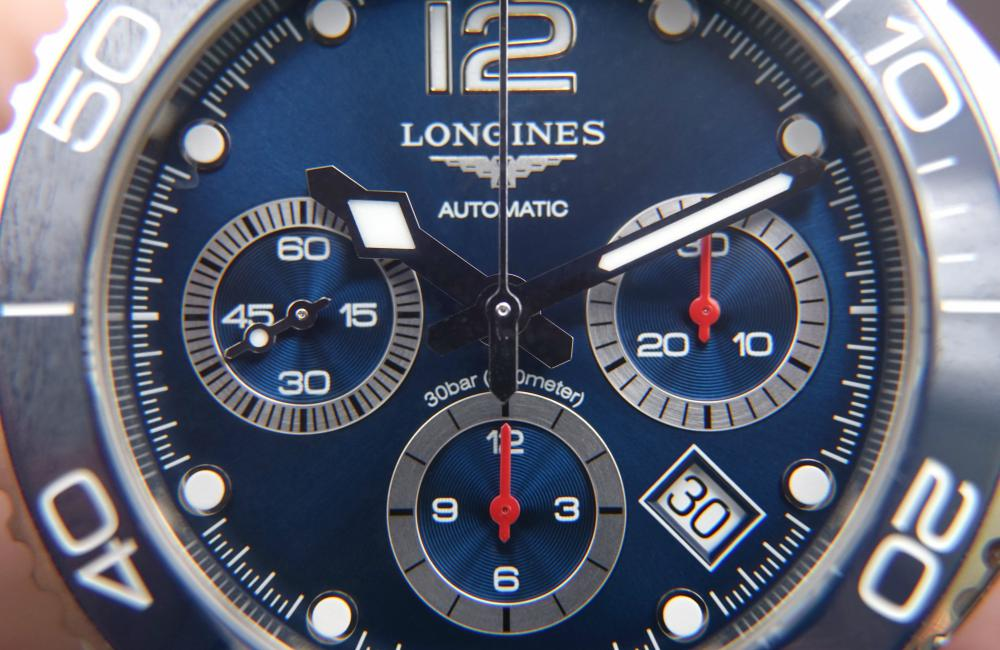 Longines HydroConquest Ceramic Review dial - [编辑试戴]: Longines HydroConquest (内附郭富城专访)