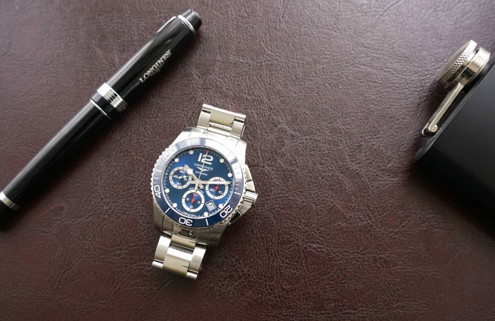 Longines HydroConquest Chronograph review - [编辑试戴]: Longines HydroConquest (内附郭富城专访)