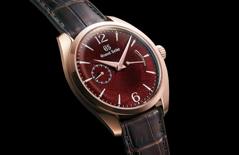 Rose Gold Grand Seiko Elegance Collection - 精薄淬炼,优雅知性:Grand Seiko Elegance 系列