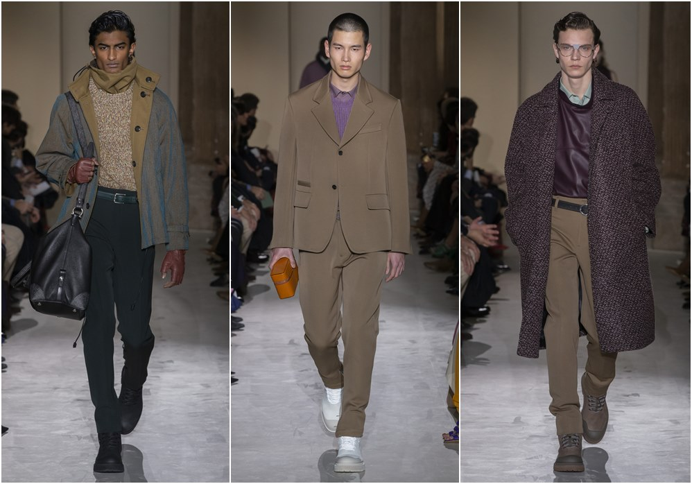 Salvatore Ferragamo fall winter 2019 menswear earth tone - Salvatore Ferragamo 秋冬'19:经典与粗犷的对话