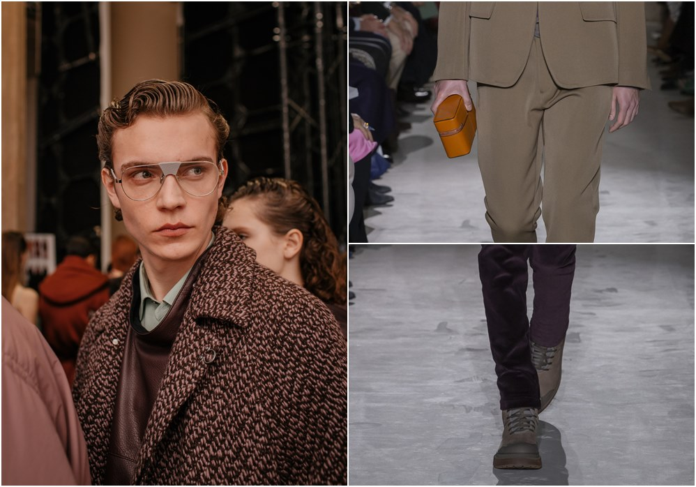 Salvatore Ferragamo fall winter 2019 menswear eyewear - Salvatore Ferragamo 秋冬'19:经典与粗犷的对话