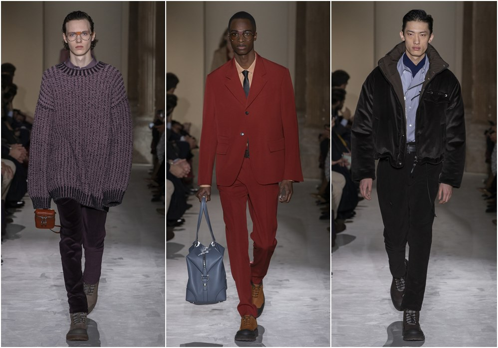 Salvatore Ferragamo fall winter 2019 menswear knit wear - Salvatore Ferragamo 秋冬'19:经典与粗犷的对话