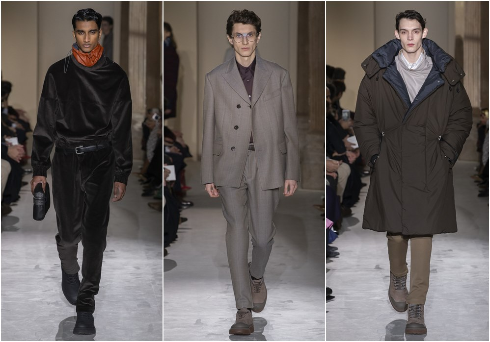 Salvatore Ferragamo fall winter 2019 menswear suits - Salvatore Ferragamo 秋冬'19:经典与粗犷的对话