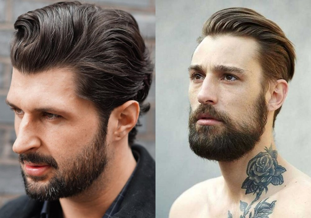 mens slick back hair curly hair - 如何打造帅酷 Slick Back 发型?