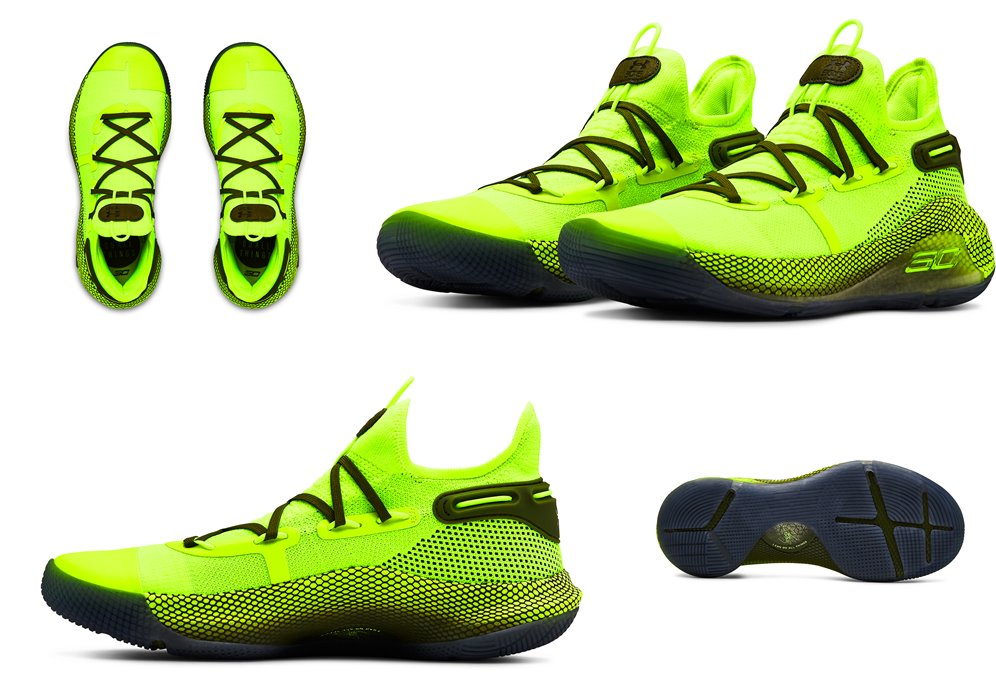 curry 6 lime green off 64% - www