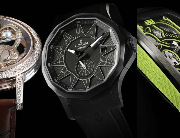 CORUM Novelties 2019 cover 600x460 - 捕捉工艺与艺术的热情:CORUM 2019 Novelties 新表作