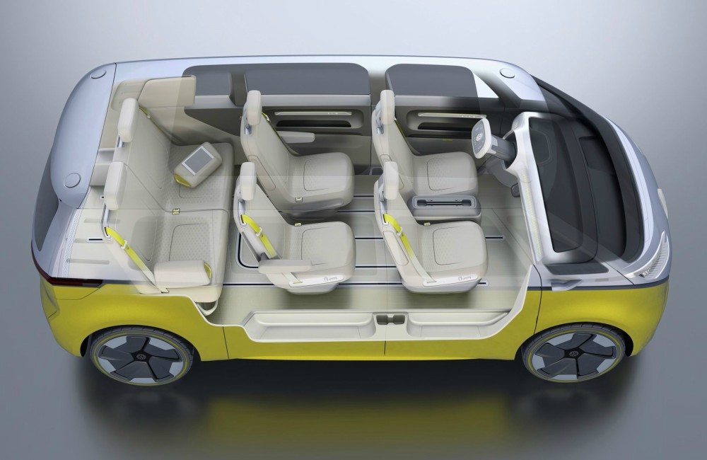 E Gen VW ID Buzz 7 Seated - K's Talk:纯电动车掀新趋势!7款 Fully Charged 新车型
