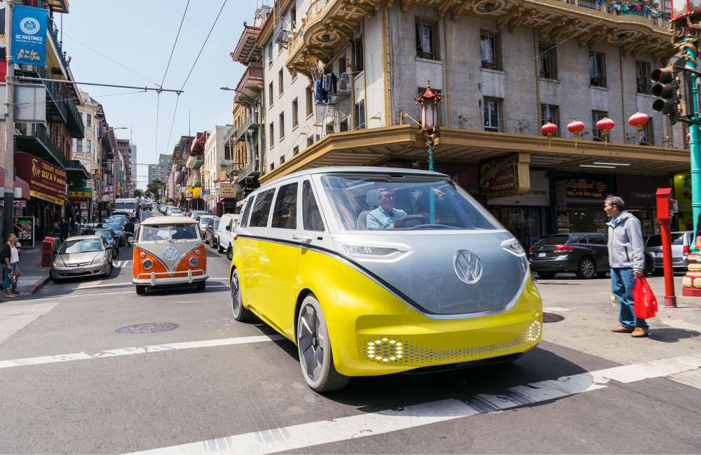 E Gen VW ID Buzz On the road - K's Talk:纯电动车掀新趋势!7款 Fully Charged 新车型