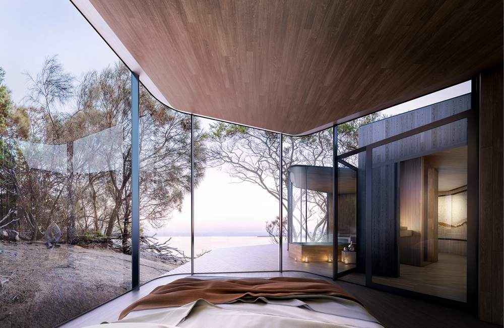 Freycinet Lodge Coastal Pavillions 2 - 期待你爱上的心形岛屿:Australia Tasmania