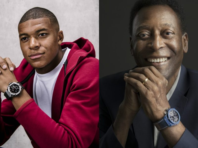 Hublot Meeting legends Pele Mbappe cover 800x600 - Home