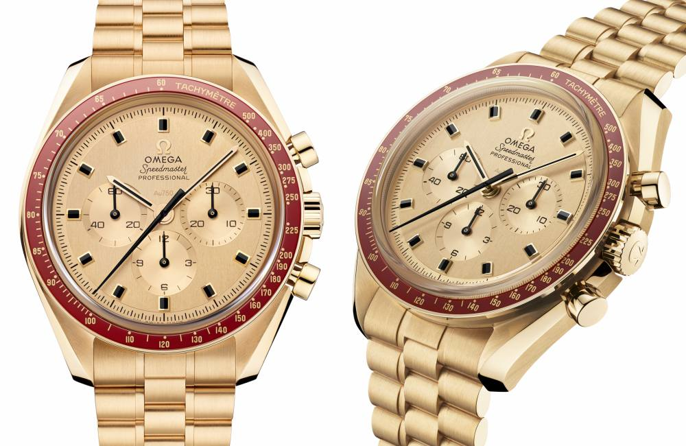 "Omega Speemaster Moonwatch Apollo 11 Apollo 11 - ""阿波罗11号""50周年:Omega Speedmaster 18K 超霸腕表"